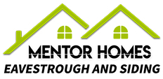 Mentor Homes Logo for eavestrough installation and repair