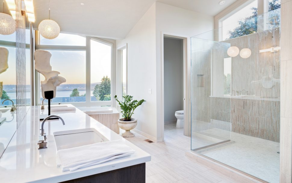 Picture with Beautiful Bathroom